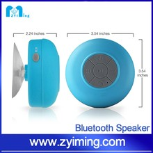 Zyiming 2017 Alibaba Best Selling Mushroom Sucker Waterproof Bluetooth Speaker for iphone 6