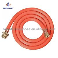 Cheap soft heat proof air compressor PVC reinforced pvc gas hoses factory direct supply