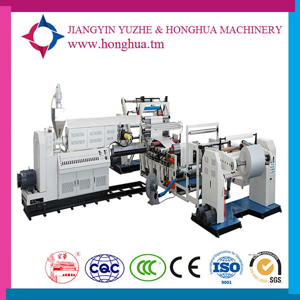 Automatic Granule Extrusion Coating Plant Plastic Laminated Film Extrusion Machine in China