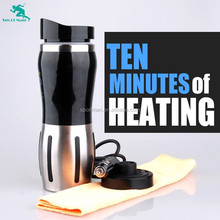 12v heating cup 24V Car Electric Kettle Cars Thermal Mug Heater Cups Boiling Water bottle
