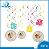 High Sales Volume Coloured Hanging Swirls Party Decorations Swirls of Baby Shower