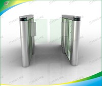Access control system Baffle gate turnstile Auto gate turnstile Flap gate barrier with CE approved