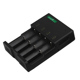 universal smart rechargeable li-ion lithium 4 slot 18650 battery charger