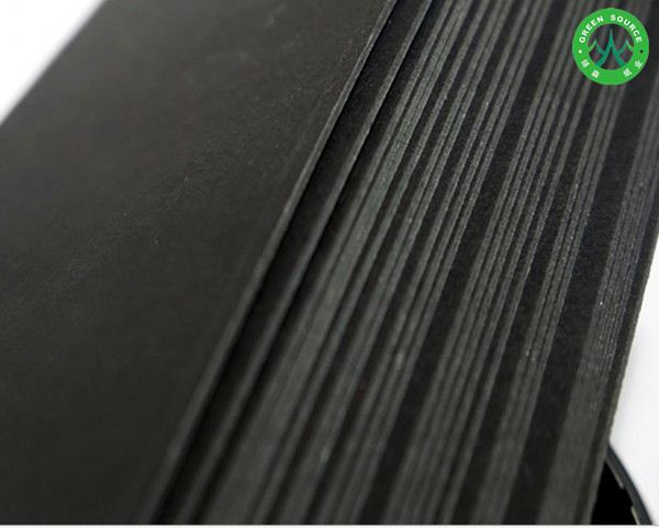 Black wrapping paper board laminated cardboard paperboard