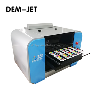 High Precision uv led pen printer digital printing machine for 360 degree Cylinder 6 colors