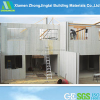 ZJT China luxury prefabricated houses prices low cost prefab villa modular homes