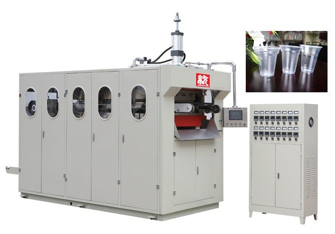 Plastic PP Disposable Transparent Water disposable glass machine price