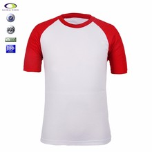 Custom 100 Polyester Sublimation Blank Man Rounded Neck T Shirt Wholesale