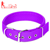 Hot-Sale Neoprene Padded Nylon Webbing Dog Collar,with Adjustable Metal Hook Anti-Rust