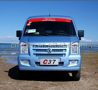 Chinese Dongfeng 9 seats 4x2 well-being C37 Mini van