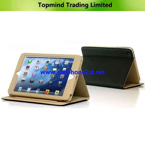 Topmind Wallet Leather Cover Pouch for iPad Mini