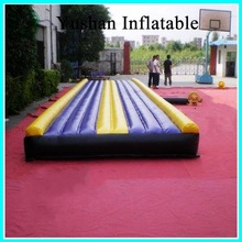 Adventure Jungle inflatable air track for gym