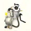 Dual Fuel Generator Carburetor For 168F GX160 2KW Water Pump