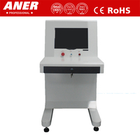 43mm steel penetration 0.1 ugy low radiation leakage 6550 X ray baggage scanner for sport meeting security inspection