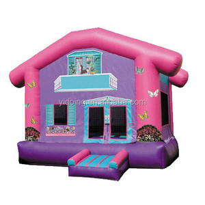 Popular inflatable cartoon castle B1026