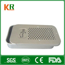 cheap metal customized metal tin box/ single customized packing cigarette