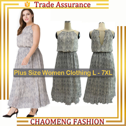 9013# Lady Dress Beautiful Fashion Chiffon Maxi Sleeveless Wholesale Sun Dresses For Women Plus Size Clothing