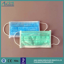 ce iso plane type surgical hot sales face mask for food service with reliable quality