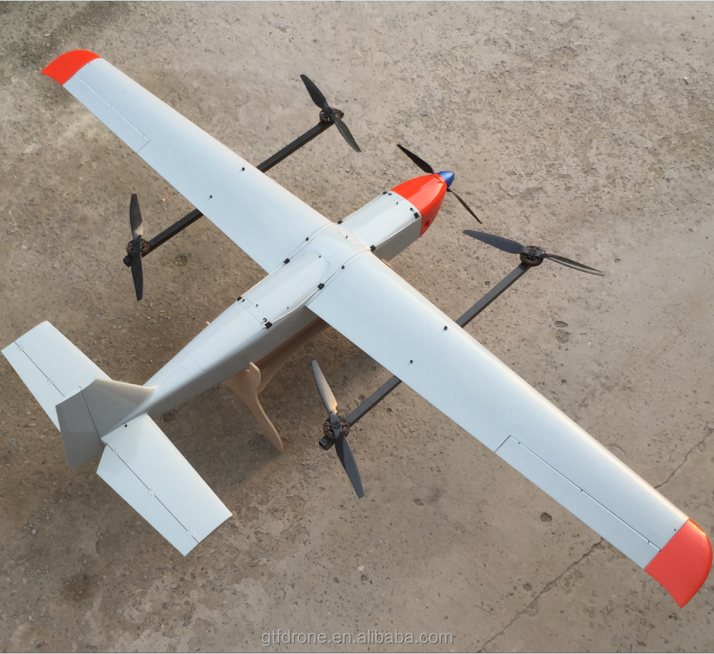 Fixed-wing Unmanned Aerial Vehicle, Multi-functional Unmanned Aerial Vehicle(UAV) drones with fixed wing