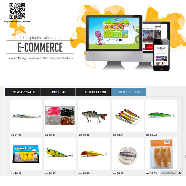 ecommerce wordpress best lure walleye online web site