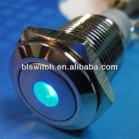16mm metal momentary led fuji push button switch