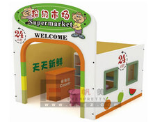 Miniature Dolls House Furniture For Childrens / Supermarket Type Play Dolls Houses For Boys And Girls