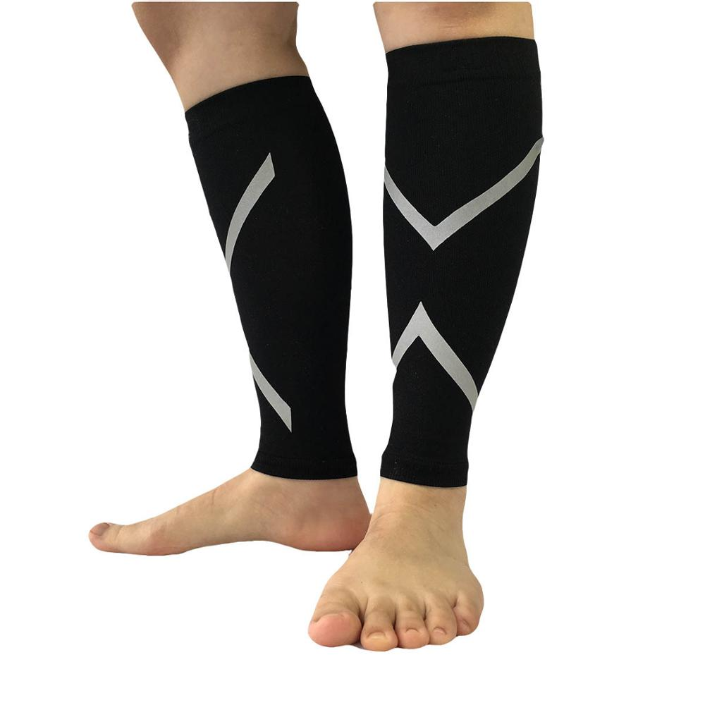 High Quality OEM Wholesale Outdoor Sports <strong>Protect</strong> Reflective Leg Compression Sleeve