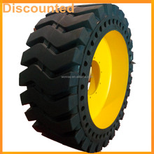Front Wheel Loader Mini Tractor Solid Tires 23.5-25 26.5-25 20.5-25 17.5-25 For Construction Companies