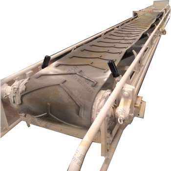 China large capacity high efficiency walled sand stone inclined belt conveyor for sale