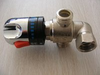 "China supplier 1/2"" vernet thermostatic mixing valve"