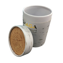 ACCEPT CUSTOM MADE CARDBOARD PAPER CRAFT TUBE PACKAGING WITH GOLD HOT STAMPING