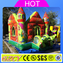Inflatable air jumping castle kids playing bouncer house for amusement park