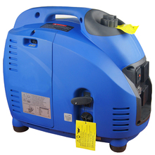 Suitcase style silent portable mini gas generator, pure wave inverter generator, low rpm generator
