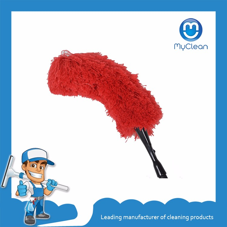 cheap long handle clean microfibre fiber duster