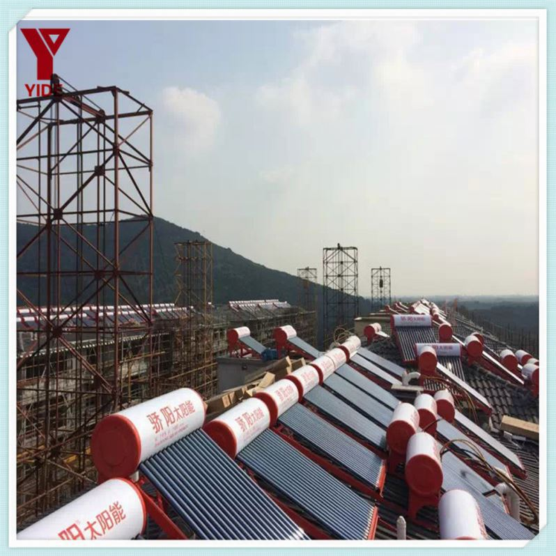 Supply hybrid solar and heat pump water heater, vacuum tube solar water heater/flat plate solar collector