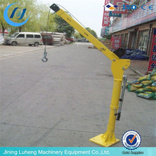small portable boat lifting lift cranes for truck