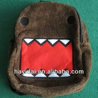 Licence plush domo school backpacks