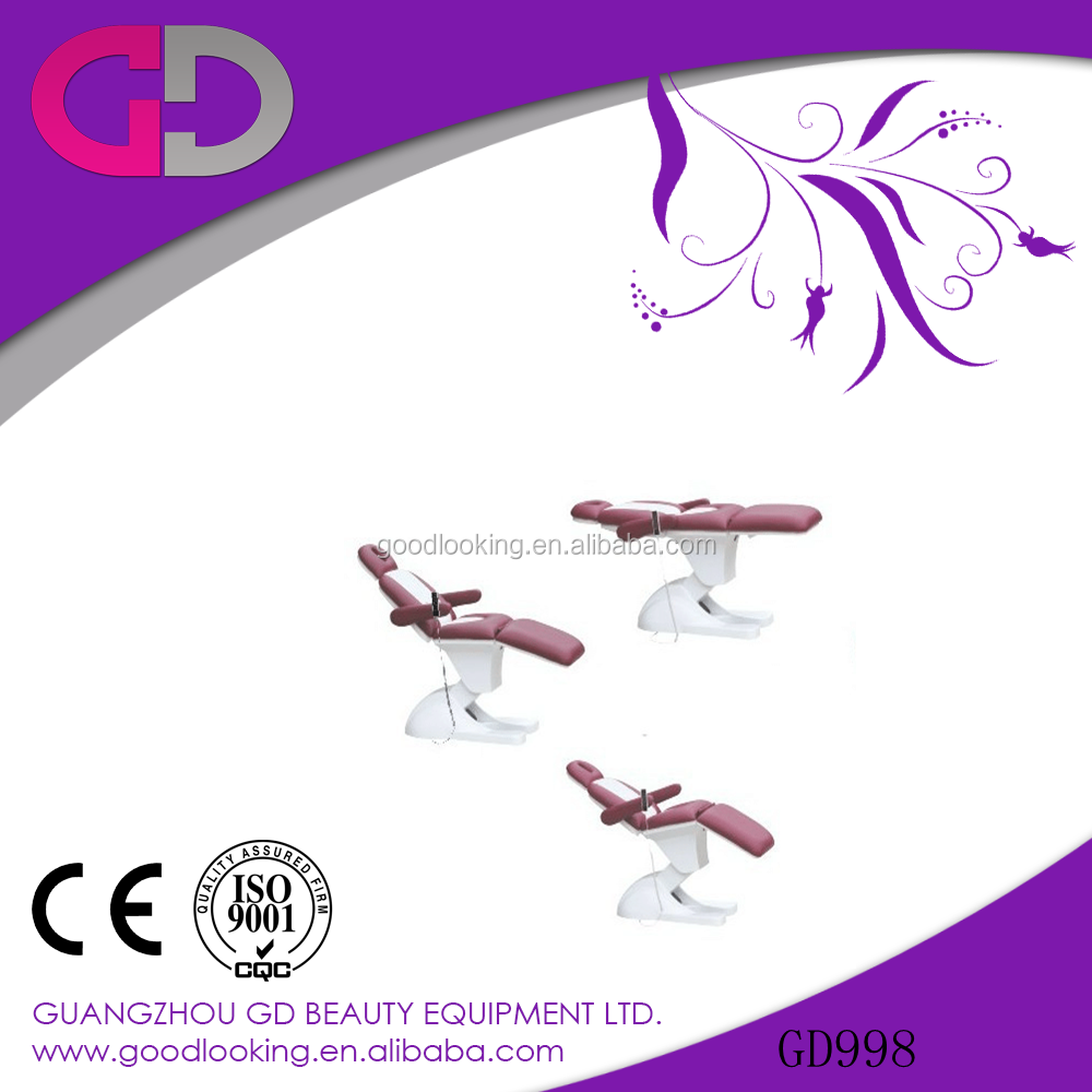 best 2015 guangzhou cosmetic Electric Lift Beauty massage Bed for beauty salon