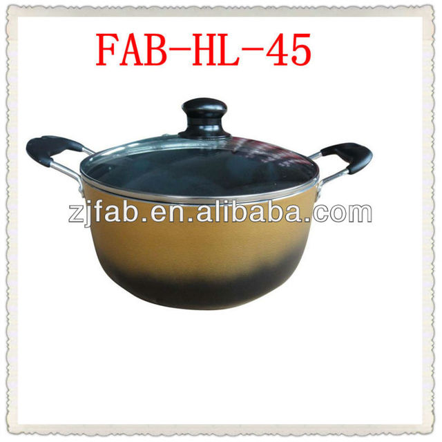 Changed Color Gana Hot Sale Aluminum Big Pot