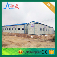 Flexible roofing material steel structural prefabricated broiler poultry farm house design