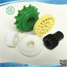 engineering plastic injection molding colored small nylon gears for toy