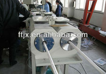 PVC U-PVC double-pipe making machine/PVC pipe production line with price