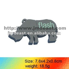 Shenzhen OEM Hot sale!!promotional hippo usb flash drive