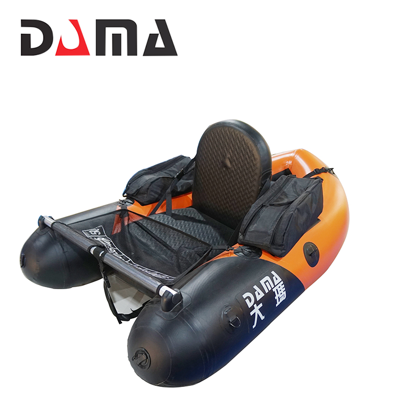 DAMA 1.2mm PVC quality Inflatable <strong>Boat</strong> for fishing river rafting <strong>boat</strong>