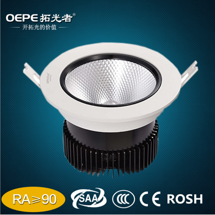 50w RA 95 best quality radiator light ring led cob spot downlight