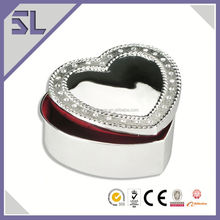 Wedding Decoration With Mirror Jewelry Box As Gift Manufacturer