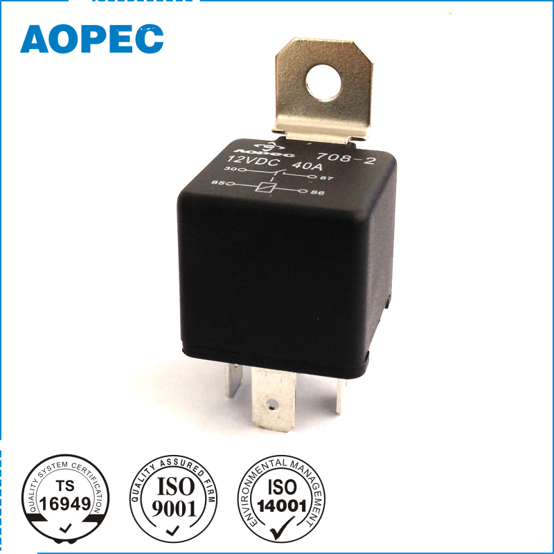 12V 40A 4 Pin 40/30A 5 Pin Mini Auto Electrical Relay price