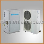 EVI Split system heat pump air heating pump (hot water and floor heating)