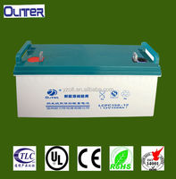 wholesale high efficiency rechargeable battery 12v 150ah eps battery /ups battery
