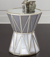 ZhaoHui Home Furniture Mirror Glass Side table/end Table